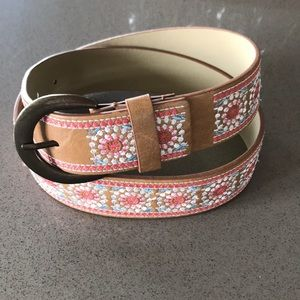 Cute embroidered design belt